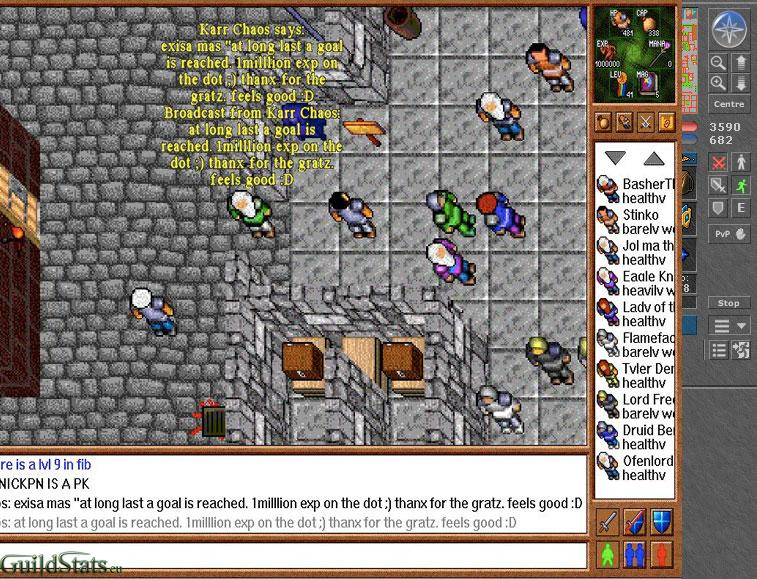 Screen of Week - Tibia Statistics - GuildStats eu